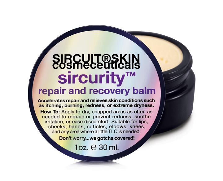 Sircuit Skin Sircurity Repair and Recovery Balm 1 oz
