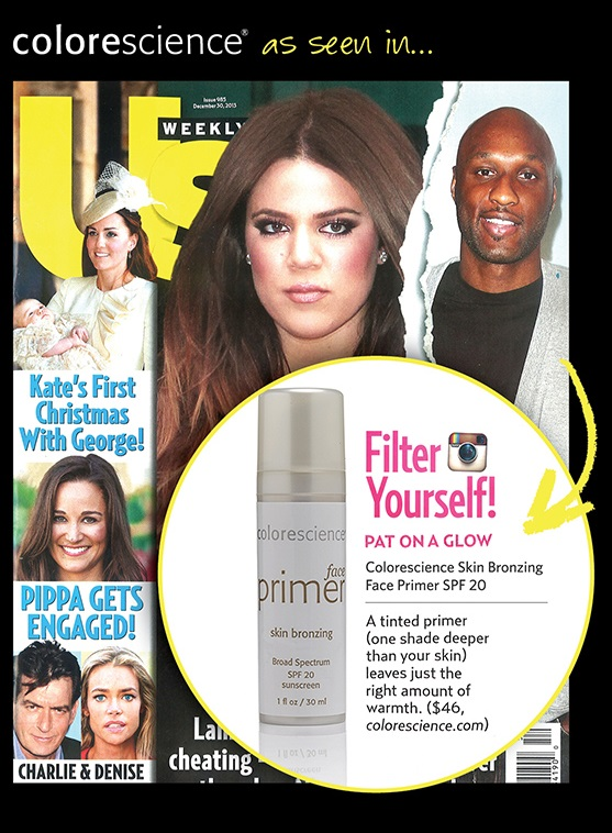 Colorescience Pro Skin Bronzing Primer Featured in US Weekly