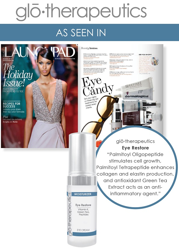 glotherapeutics Eye Restore Featured in Launchpad Magazine