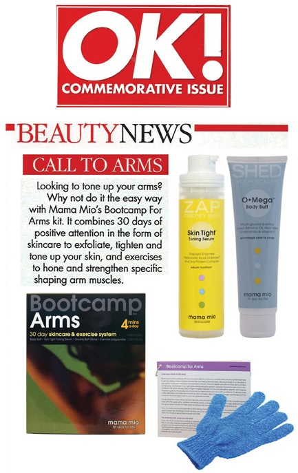 Mama Mio Bootcamp for Arms Featured in OK Magazine