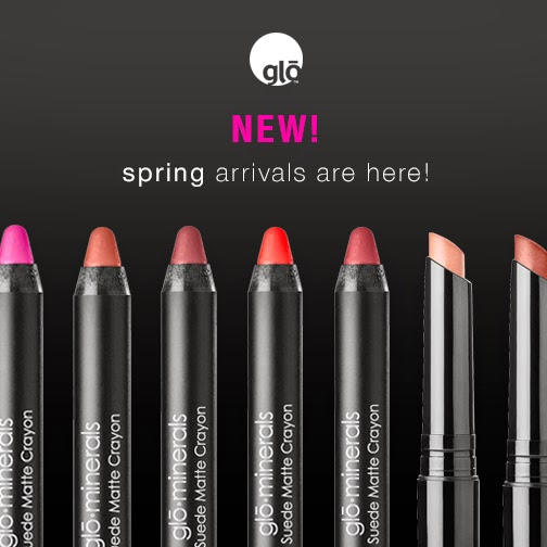 gloMinerals Spring Lip Collections